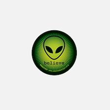 Believe, Alien Mini Button