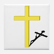 Cross of Christ Tile Coaster
