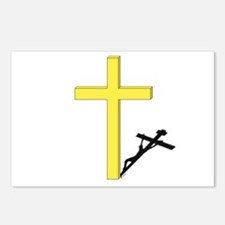 Cross of Christ Postcards (Package of 8)