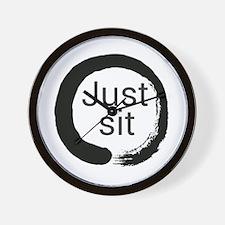 Just sit Wall Clock