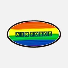 Air Force gay rainbow art Patch