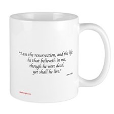 Cross of Christ w/ Scripture Mug
