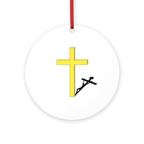 Cross of Christ Keepsake (Round)