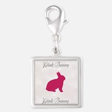 Cute Pink Bunny Charms