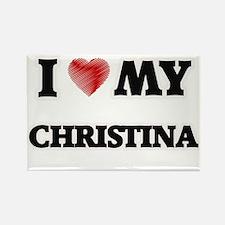 I love my Christina Magnets