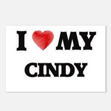 I love my Cindy Postcards (Package of 8)