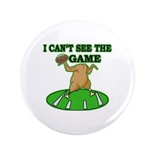 "Turkey Game 3.5"" Button (100 pack)"