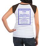 Supersedure Zone Women's Cap Sleeve T-Shirt