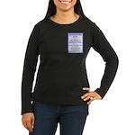 Supersedure Zone Women's Long Sleeve Dark T-Shirt