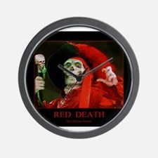 Red Death ~The Ultimate Stalker Wall Clock