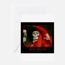 Red Death ~The Ultimate Stalker Greeting Cards