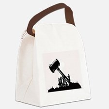 Cute Issue Canvas Lunch Bag