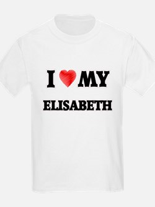 I love my Elisabeth T-Shirt