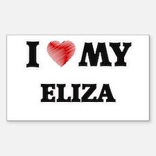 I love my Eliza Decal