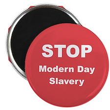 STOP Modern Day Slavery Magnet