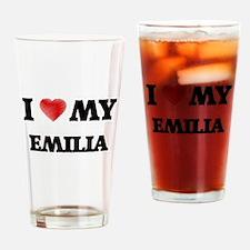 I love my Emilia Drinking Glass