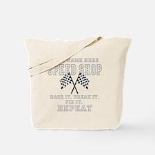 Racing Speed Shop Tote Bag