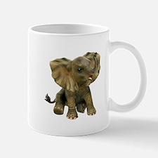 Beautiful African Baby Elephant Mugs