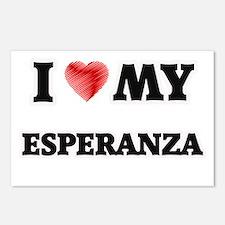 I love my Esperanza Postcards (Package of 8)