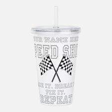 Racing Speed Shop Acrylic Double-wall Tumbler