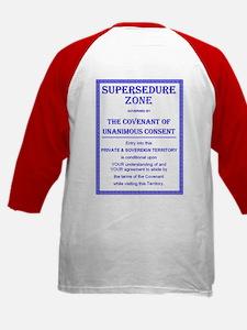 Supersedure Zone Kids Baseball Jersey