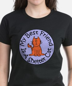 My Best Friend is a Shelter C Tee