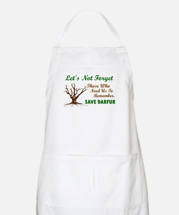 Let's Not Forget ..... (Darfur) BBQ Apron