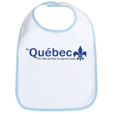"""""""Au Quebec - On fait qu'est ce qu'on veut"""" Bib"""
