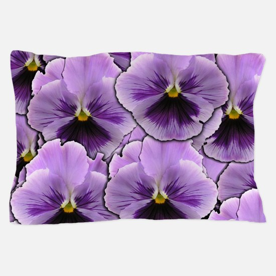Pansy Patch Pillow Case