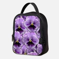 Pansy Patch Neoprene Lunch Bag