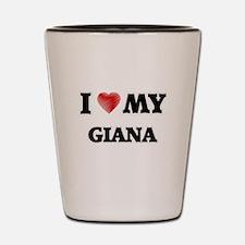 I love my Giana Shot Glass