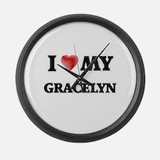 I love my Gracelyn Large Wall Clock