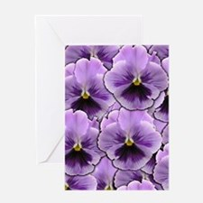 Pansy Patch Greeting Cards