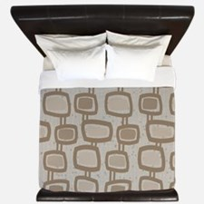 Mid-Century Rectangles King Duvet