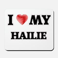 I love my Hailie Mousepad
