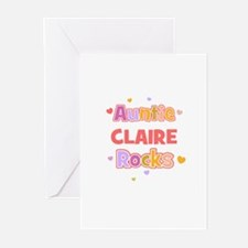 Claire	 Greeting Cards (Pk of 10)