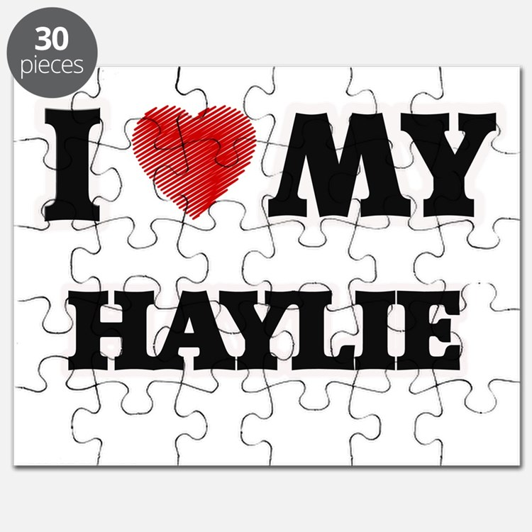 I love my Haylie Puzzle