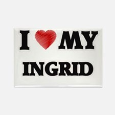 I love my Ingrid Magnets