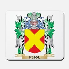 Pujol Coat of Arms - Family Crest Mousepad