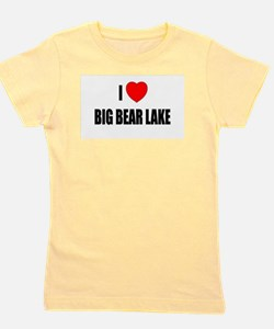 Cute Big bear lake Girl's Tee