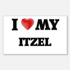 I love my Itzel Decal