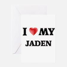 I love my Jaden Greeting Cards