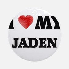 I love my Jaden Round Ornament