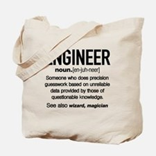 Cute Engineer Tote Bag