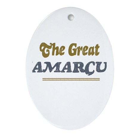 Jamarcus Oval Ornament