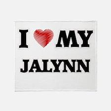 I love my Jalynn Throw Blanket