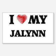 I love my Jalynn Decal