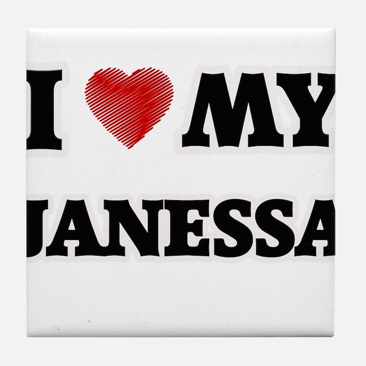 I love my Janessa Tile Coaster