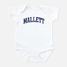 MALLETT design (blue) Infant Bodysuit