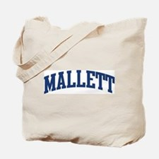 MALLETT design (blue) Tote Bag